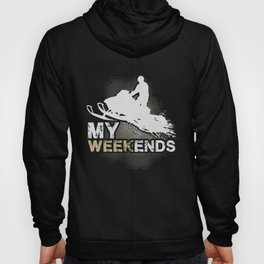Snowmobile Weekends Hoody