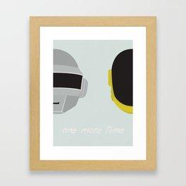 One More Time Framed Art Print