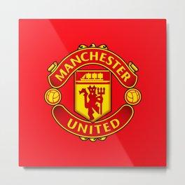 Manchester United F.C. Metal Print