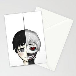 Kaneki Ken shiro/kuro split Stationery Cards