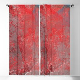 Abstract texture Blackout Curtain
