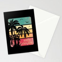 Anaheim California Vintage Summer Stationery Cards