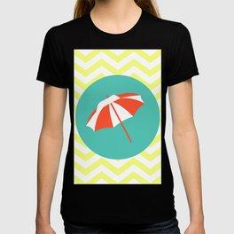 Beach Umbrella - Cute Summer Accessories Collection T-shirt