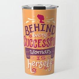 Successful woman Travel Mug