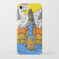 korra iPhone & iPod Cases featuring Korra by TheArtGoon