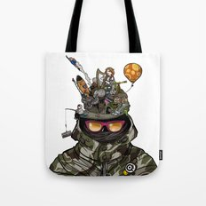 Snazzy Cap. Tote Bag
