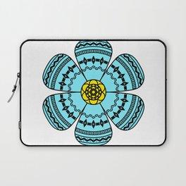 Hippie Geometric Flower Laptop Sleeve