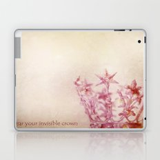 Wear Your Invisible Crown Laptop & iPad Skin