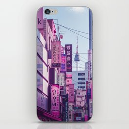 Seoul - Anime World iPhone Skin