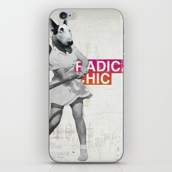 Radical Chic iPhone & iPod Skin