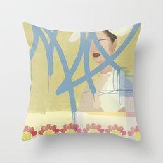 Wallpaper Throw Pillow