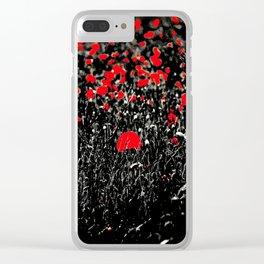BELLES DES CHAMPS SB Clear iPhone Case