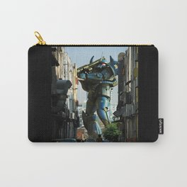 Mech behind a back alley Carry-All Pouch