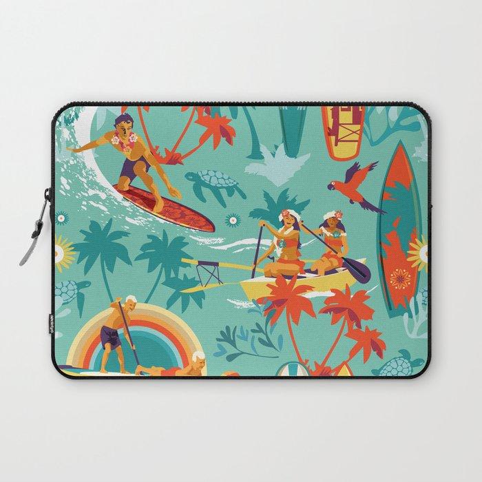 Hawaiian resort Laptop Sleeve
