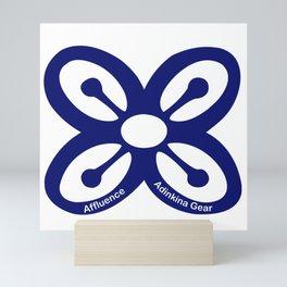 Blue Affluence Mini Art Print
