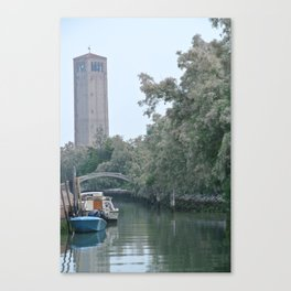 Torcello Canal Canvas Print