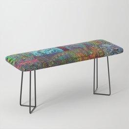 Bohemian Wonderland Bench