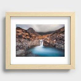Fairy Pools Recessed Framed Print