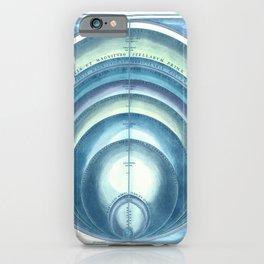 Harmonia Macrocosmica Plate 10 Blue iPhone Case