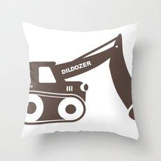 Dildozer Throw Pillow
