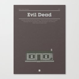 Horror Film Houses 03 Canvas Print