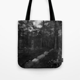 Dark Cemetery Tote Bag