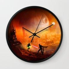STAR . WARS Wall Clock