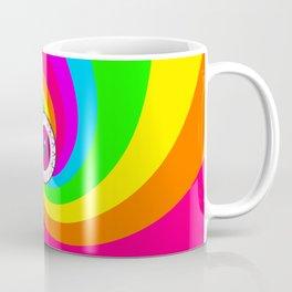 Neon Gaze Coffee Mug