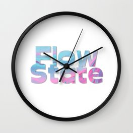 Flow State Wall Clock