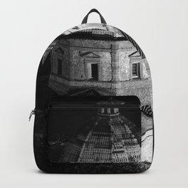 shot on film .. tuscan church Backpack
