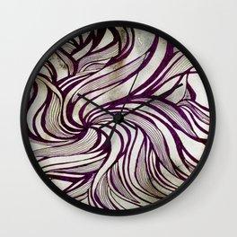 More Swirlls Wall Clock