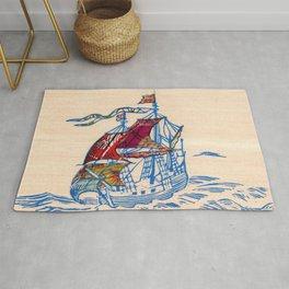 Sailing Ship XI Rug