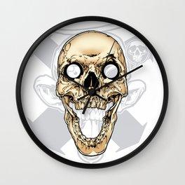 Skull 002 Wall Clock