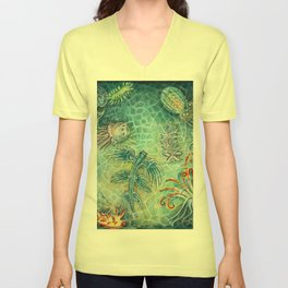 The Blue Dragon Unisex V-Neck
