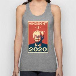 Hindsight is 2020 Bernie Sanders Unisex Tank Top