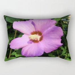 Rose OF Sharon In Mid Summer Rectangular Pillow