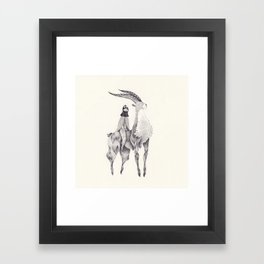 もののけ姫 Framed Art Print