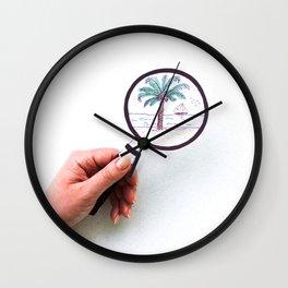 Loupe Wall Clock
