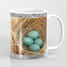 Four American Robin Eggs Coffee Mug
