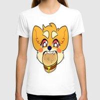 shiba T-shirts featuring SHIBA BURGER by Samedi J.