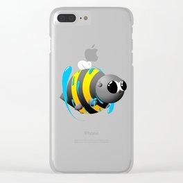 Water magic Clear iPhone Case