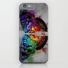Color butterfly Slim Case iPhone 6