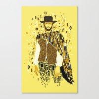klimt Canvas Prints featuring Klimt Eastwood by Frederick Hoffman