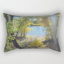 Sparkle Lake Rectangular Pillow