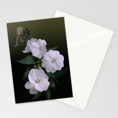 Sunpatiens and Swallowtail Butterfly Stationery Cards