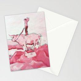 Pink Cowboy Fantasy Stationery Cards