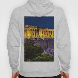 Acropolis; Athens Greece on a star-filled night Hoody