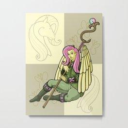 Fluttershy Metal Print