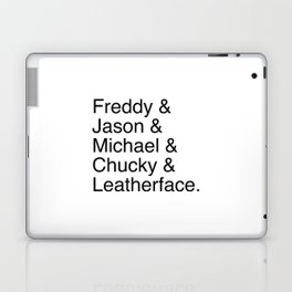 Horror's Best Laptop & iPad Skin