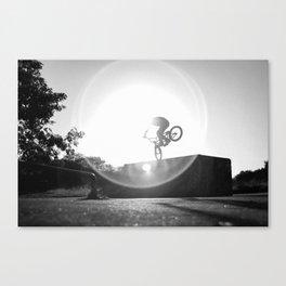 BMX Footjam Canvas Print